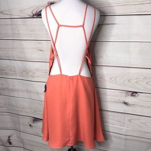 Nasty Gal Dresses - Nasty Gal Liza Peach Coral Dress New with tags XL